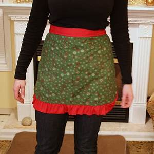 Christmas Aprons Life at Cloverhill
