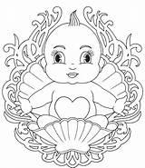 Coloring Babies Printable sketch template