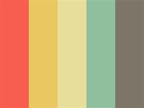 retro color palette retro paper pack instant set of 14 digital