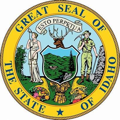 Idaho Seal State Svg Laws Stateseal Symbols