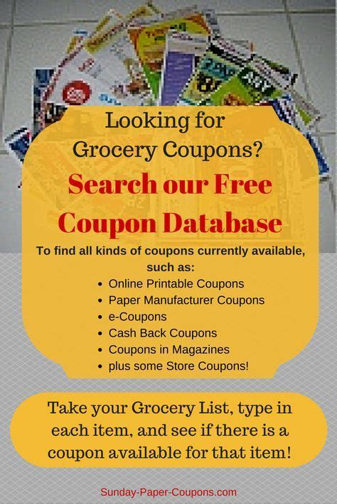 14283 Food Coupons By Mail by Free Coupons By Mail How To Get Coupons In The Mail