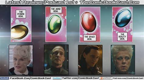 Marvel Cinematic Universe Infinity Gems Breakdown