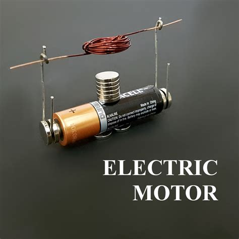 Electric Motor Battery by An Electric Motor Spins Because Impremedia Net