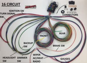 rebel wire wire kits  real rods