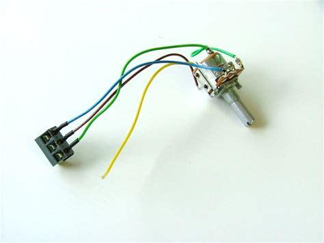 fraser foldaway potentiometer switch