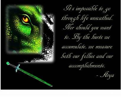 Inheritance Quotes Eragon Cycle Saphira Quote Arya