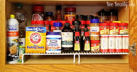 How To Organize Spices In Cupboard by 12 Organization Ideas