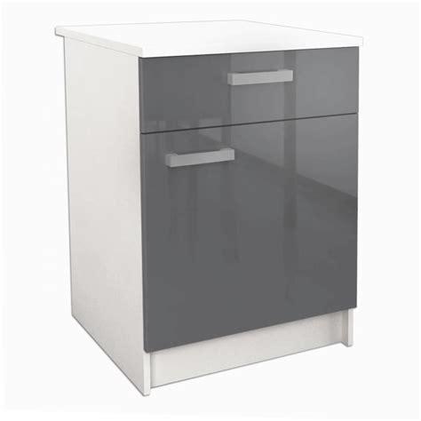 meuble bas cuisine 60 cm start meuble bas de cuisine l 60 cm avec plan de travail