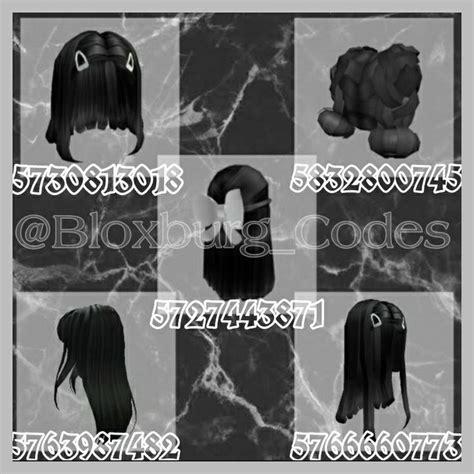 Black Hair Codes Roblox Roblox Hair Id Roblox Id Rhs codes old