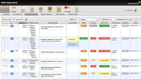 solarwinds help desk free help desk it ticketing system solarwinds