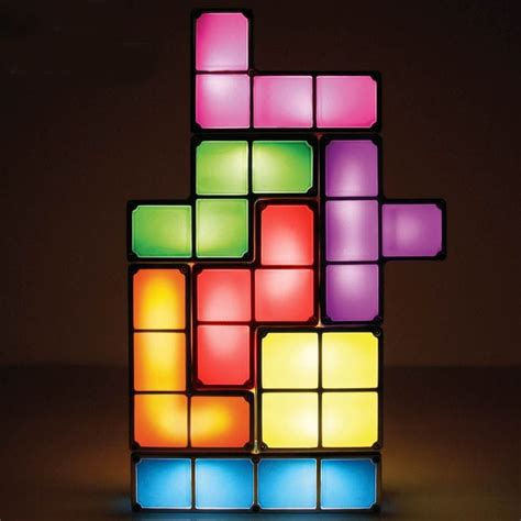 Funky Lamps  Tetris Light  Find Me A Gift