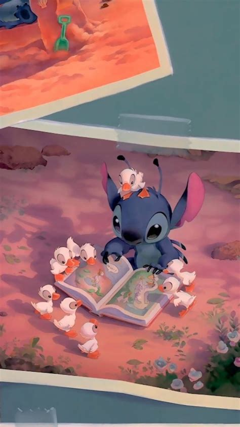 aesthetic stitch disney wallpapers