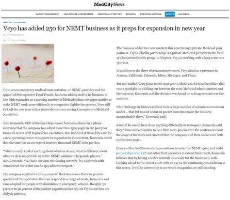 veyo news updates  partnerships