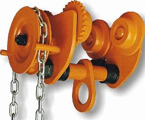 Gcl 610 Geared Trolley Manual Chain Hoist For Shipyards To