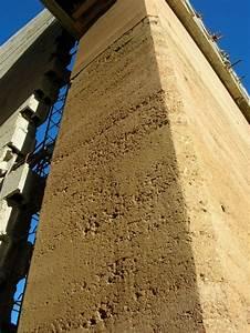Mur En Pisé : mur en pis de terre wissenbourg tapial casas et muros ~ Melissatoandfro.com Idées de Décoration