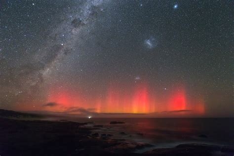Aurora Milky Way Galaxy Large Magellanic Cloud