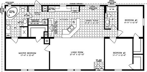 clayton mobile home floor plans