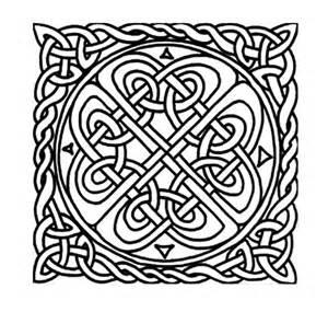 Celtic Crosses Coloring Pages