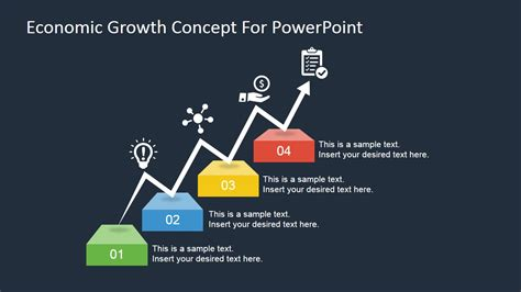 economic growth concept  powerpoint slidemodel