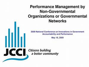 PPT - Performance Management by Non-Governmental ...
