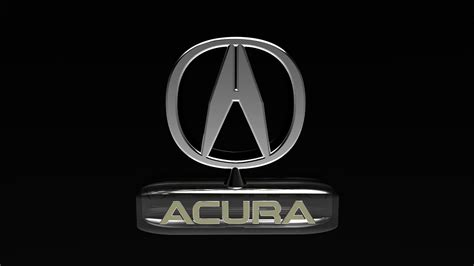 Acura Logo Hd Wallpaper 1080p Wallpaper