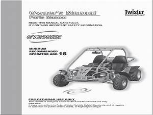 Hammerhead Twister Buggy 150  200  U0026 250 Cc