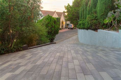 paver plank driveway project los angeles view 1