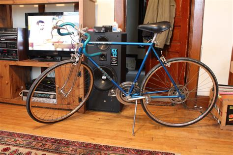 mitchells bike blog blue schwinn continental