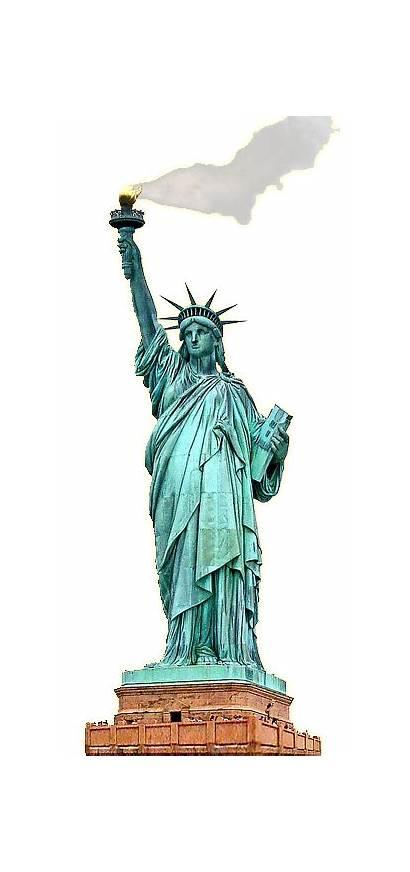 Liberty Statue Clipart Clip Transparent Monument Cliparts