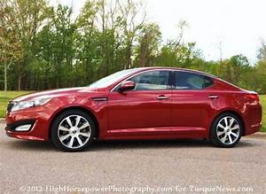 The 2012 Kia Optima Sx From The Side