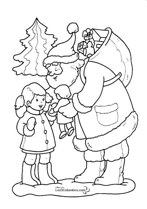 Coloriage Noel 112 Dessins à Imprimer Et à Colorier  Page 9