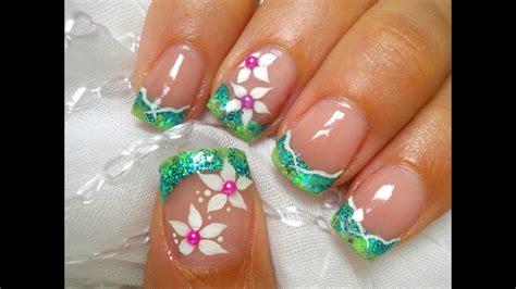 Decoracion de uñas con mandalas 50 diseños que debes tener, mas trucos y videos. Diseño de uñas tropical- tropical nail art - YouTube