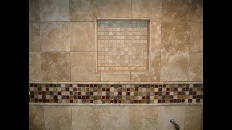 travertine limestone master bathroom  shower stall
