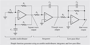 solved design a 10khz version of the function generator s With triangle squarewave generator