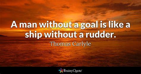 man   goal    ship   rudder