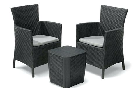 Small Wicker Patio Sets by Wicker Balcony Set Rattan And Wood Garden Furniture Chair