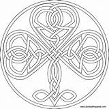 Coloring Shamrock Celtic Pages Knot Adult Designs Knotwork Knots Heart Mandala Patterns Embroidery Pattern Print Printable Format Transparent Colouring Donteatthepaste sketch template
