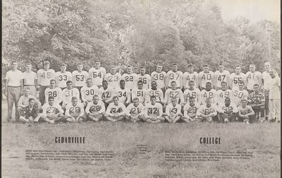 football team  cedarville college
