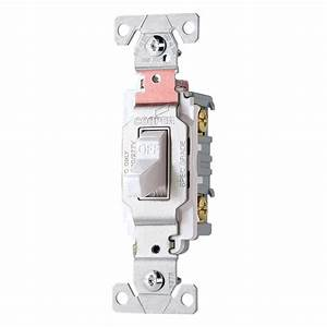 Cooper Csb220v Commercial Grade Double Pole Switch 20 Amp