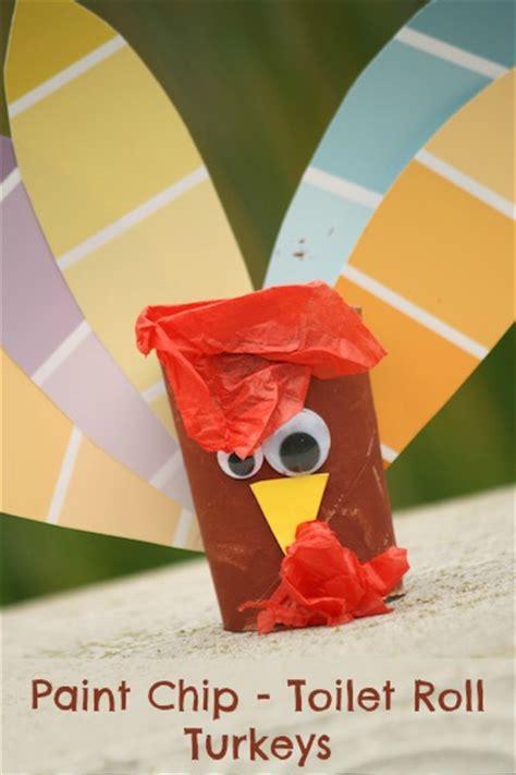 creative turkeys   toilet paper rolls guide