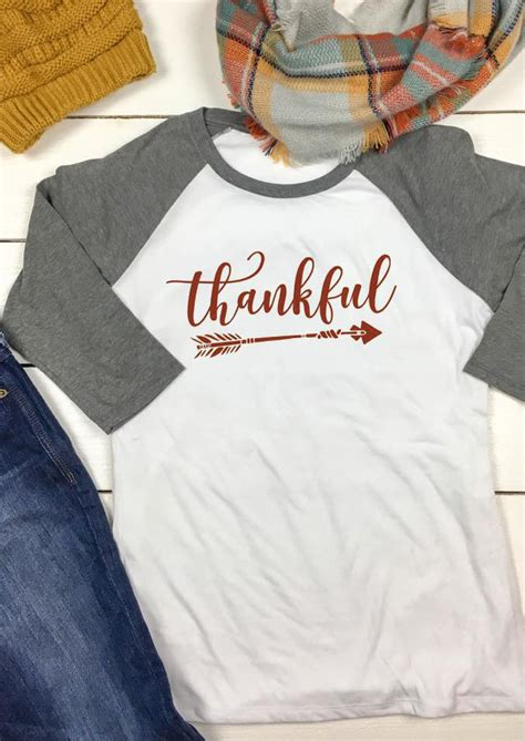 thankful arrow printed  neck  shirt fairyseason