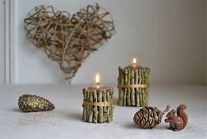 Objet Deco Bois Naturel : deco noel bois naturel ~ Teatrodelosmanantiales.com Idées de Décoration