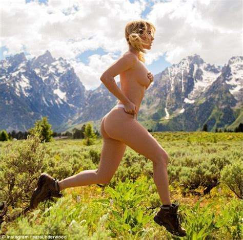 Playboy Model Posts Naked Snaps Of Her Hiking Adventures Daily Mail Online