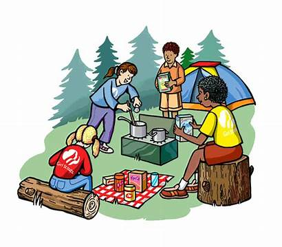 Clipart Adventure Camp Camping Summer Cliparts Clip