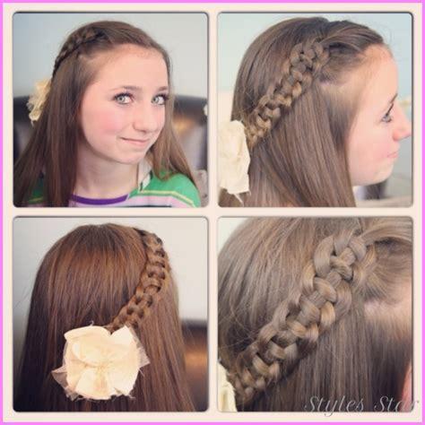 cute easy hairstyles for long hair school step by