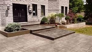 Cour De Maison : b ton estamp design cour de maison 12 b ton estamp design ~ Melissatoandfro.com Idées de Décoration