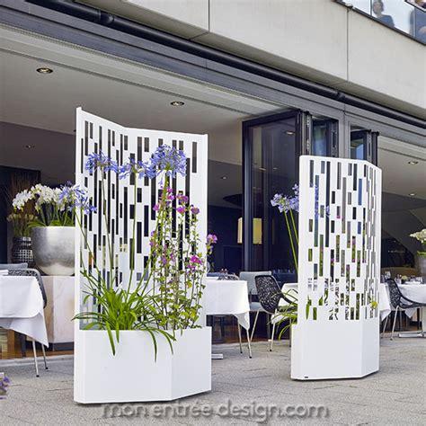 brise vue vgtal cloison mobile en acier elmas 160 achat vente sur mon entre design
