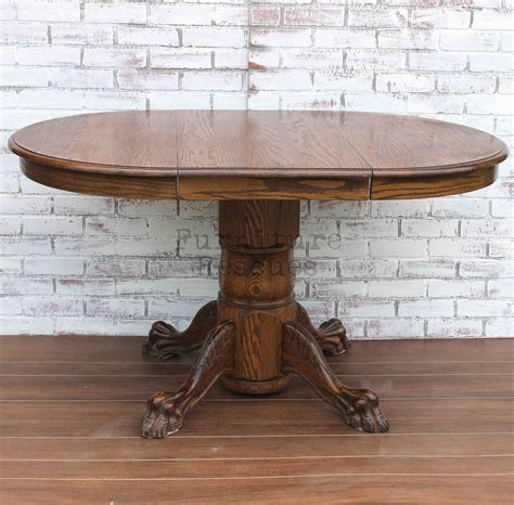 small pedestal kitchen table small clawfoot pedestal dining table furniture rescues
