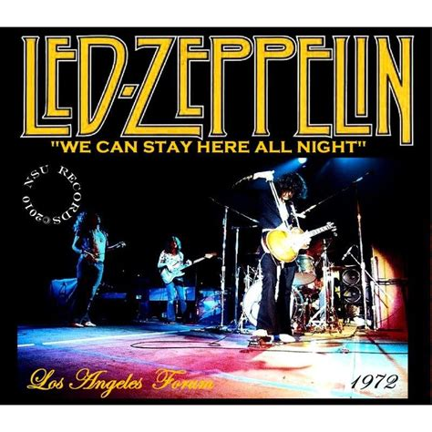 los angeles forum  cd  led zeppelin cd