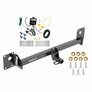 Trailer Hitch Tow Receiver W   Wiring Harness Kit For 2015